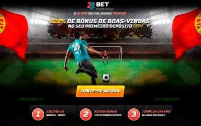 22bet Portugal, a nova casa de apostas online no nosso país!