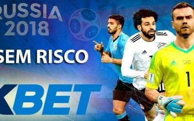 1xbet Bónus: 10€ sem risco no Mundial 2018!